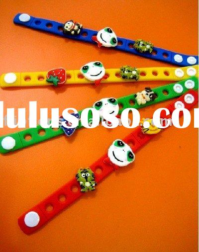 Cheap Custom Silicone Bracelets