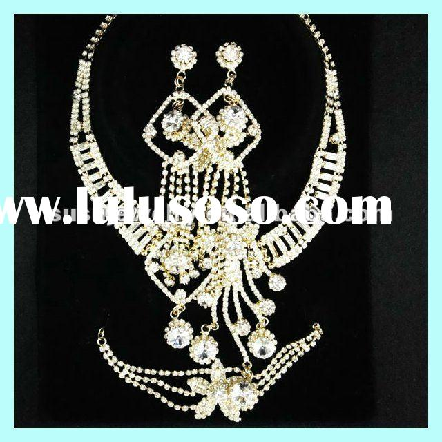 Cheap !! Hotting Fashion African jewelry sets&gold plated jewelry set
