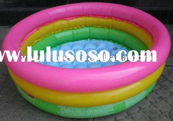 Colorful PVC Inflatable Baby Swimming Pool