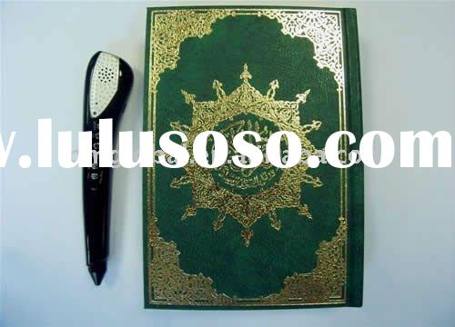 Digital Quran Pen ( Quran Reader Pen 4GB: One completed luxurious printed Othmani font Holy Quran; Q