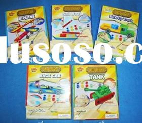 Diy wooden car craft kit set