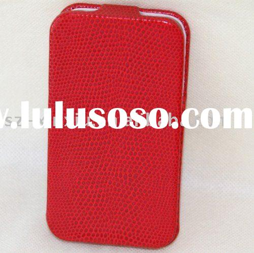 For iPhone 4 Gen serpentine shape leather cover protective mobile phone leather cover