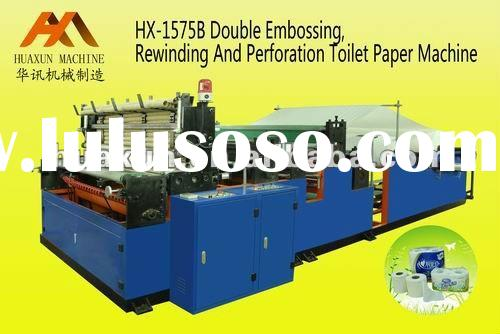 Full-Automatic High Speed Embossing, Perforating, Rewinding Toilet Paper machine(kitchen towel machi
