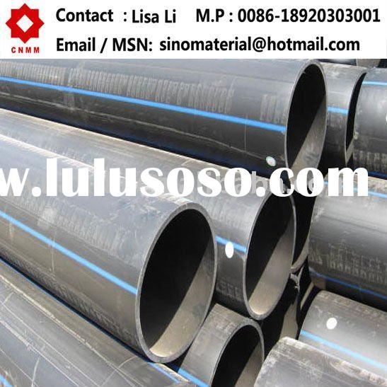 HDPE water plastic pipe