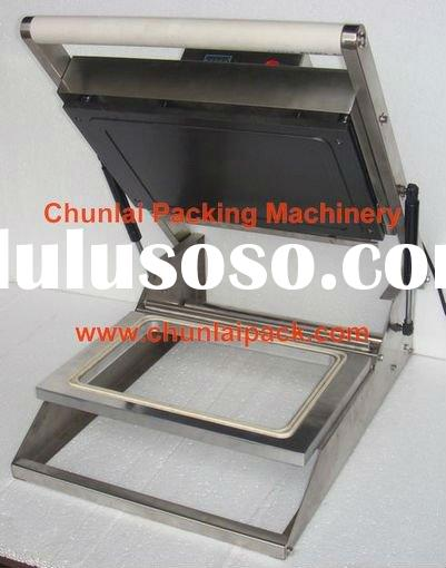 HS-300 manual tray sealer packaging machine