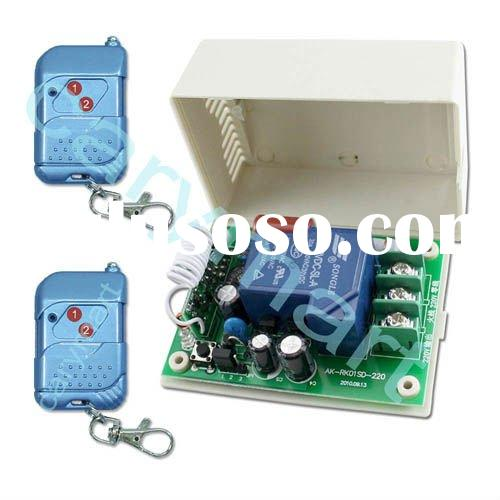 High Power 20A 1 CH AC 110v 220v RF Transmitter & Receiver Remote Control Switch, Remote Control