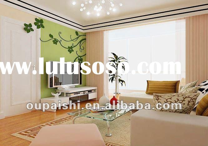Home decorative suspended pvc ceiling tiles