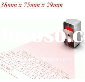 Hot!!!Bluetooth Virtual Laser projector Keyboard for iPad,iPhone and other smartphones