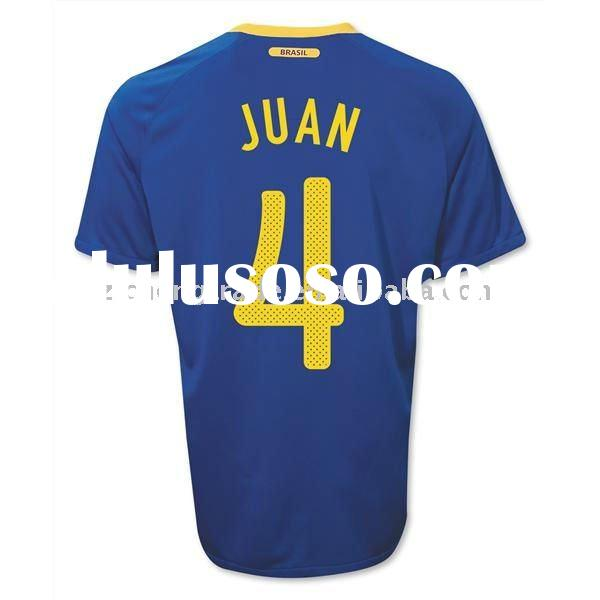 Hot Brazill Away Jersey Soccer In Thailand Quality 2011