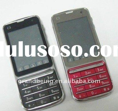 Hot sale russian keyboard tv mobile phone C3-01 cellular paypal