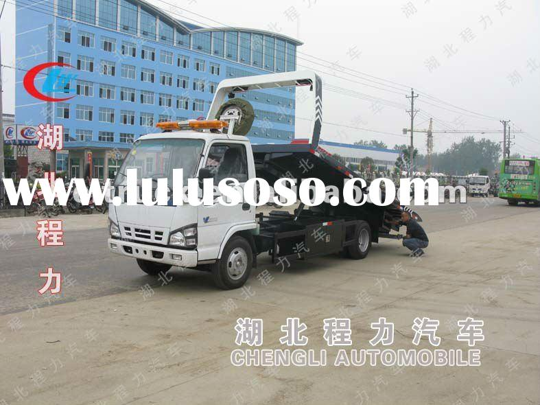 ISUZU 4*2 rollback towing truck for sale