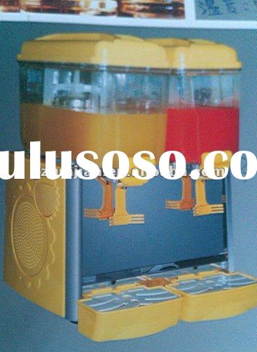 Juice dispenser cooler, cold drink mixer dispenser