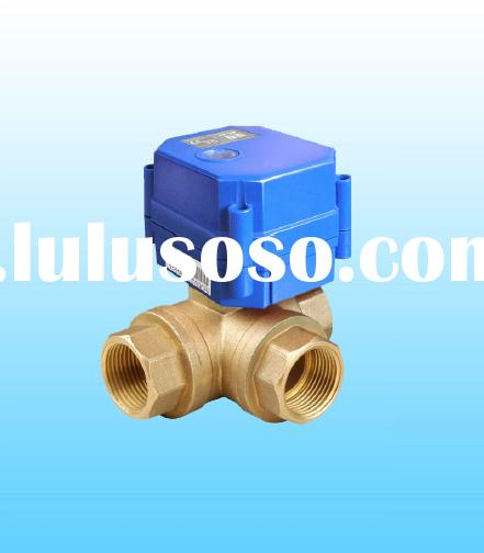 KLD20P 3 Way(B) Motorised Ball Valve for automatic control, HVAC, solar energy, solar heating ,water