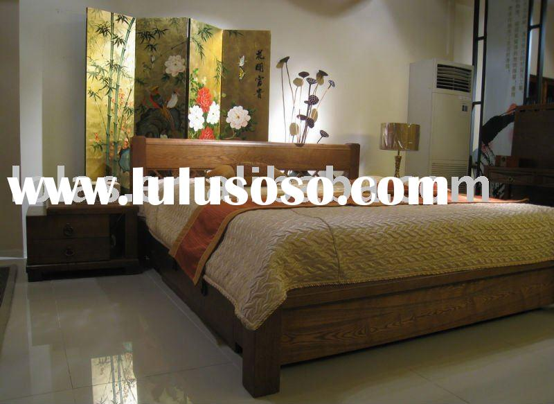 Lola's 2011 hot sale box wood bed furniture with hand painted