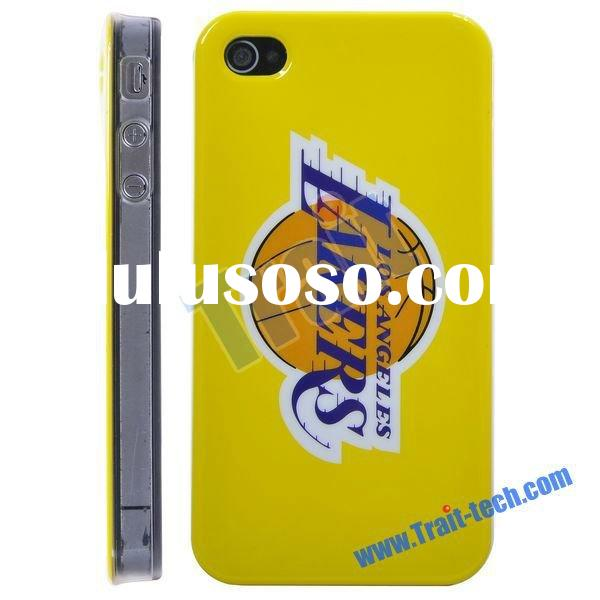 Los Angeles Lakers Basketball Club NBA Case for iPhone 4