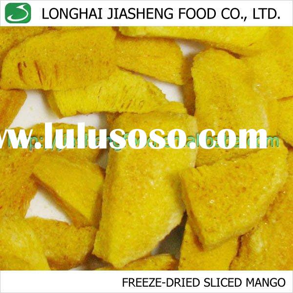 Natural Freeze Dried Tropical Fruit FD Mango Slice
