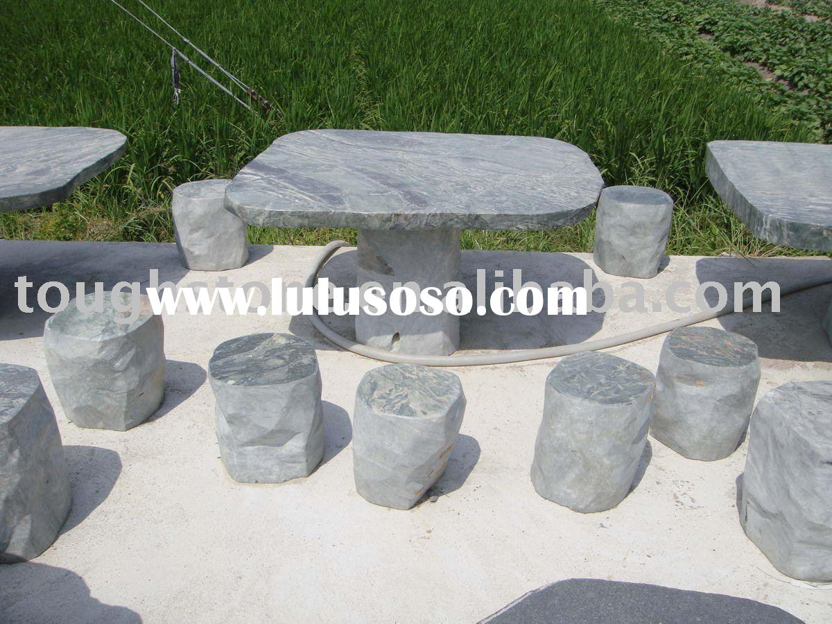 Attractive Stone Outdoor Furniture Simplylushliving   Stone Outdoor Furniture    Simplylushliving