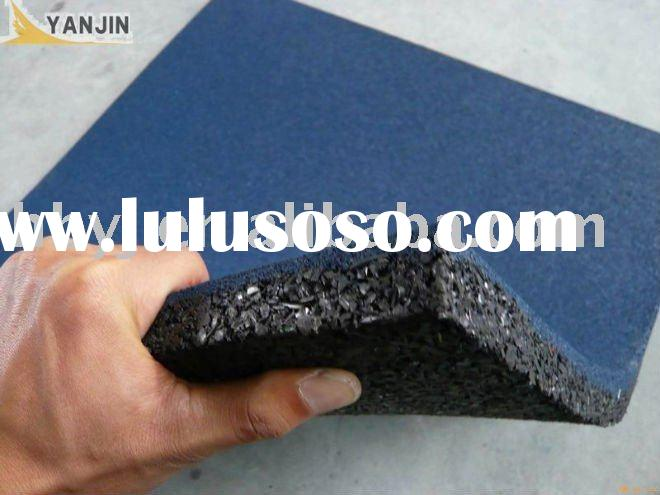 Outdoor Recycling rubber flooring tile for garage,playground