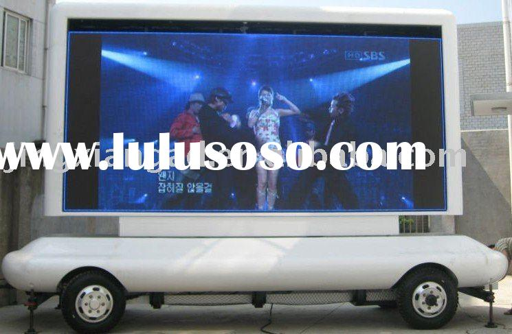 Outdoor Waterproof Mobile LED Display Board for Mobile Advertising