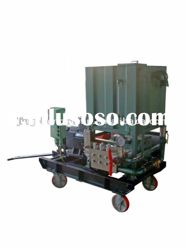 Paint Rust Removal High Pressure Cleaning Machine Water Jet