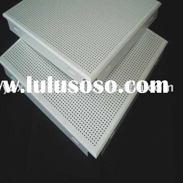 Perforated Aluminum ceiling metal ceiling tiles