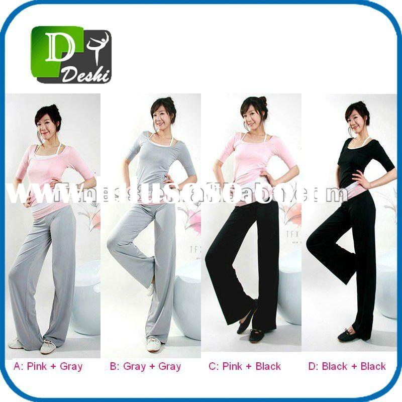 Plain Sport Wear, Ladies' Fitness&Yoga Wear, Aerobics/GYM/Workout Wear