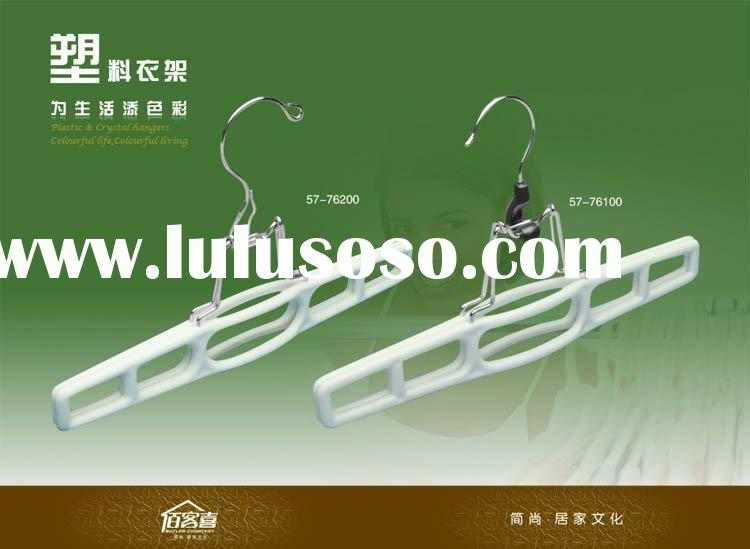 Plastic Pants Hangers with Good Quality (57-76200)