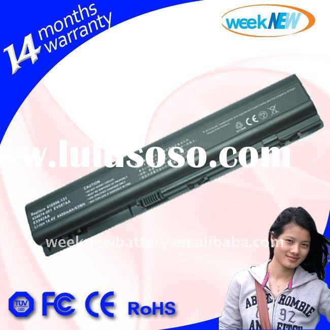 Promotion!!! Best price for 6 Cells batteries! Only 1 Month! Laptop battery for HP DV9000, HOT SALE!