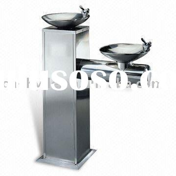 Public Water Fountain with Top Brand Compressor and Fan Cooler Condenser
