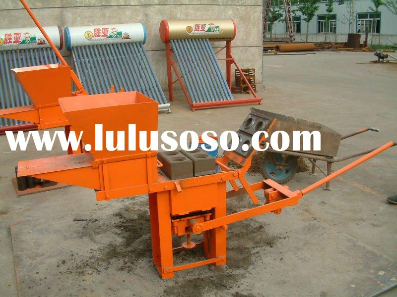 machine contact robin 15318558805 manual ecological soil brick machine