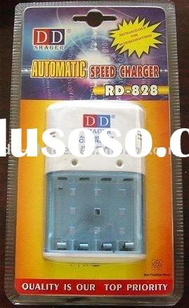 RD-828 Charger for AA/AAA 9V Battery Charger