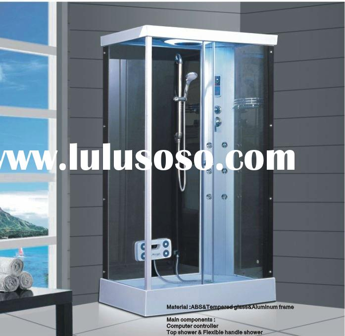 Rectangle design shower booth/steam shower room/shower enclosure with foot massage ZY-1D03(L/R)