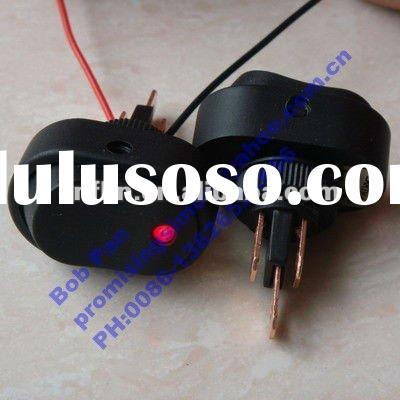 Red 12V 20A Dot Led Rocker Car OFF/ON Switch