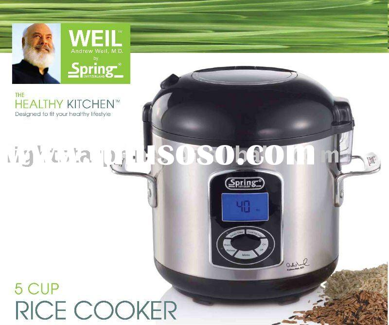 how to clean rice cooker heating plate