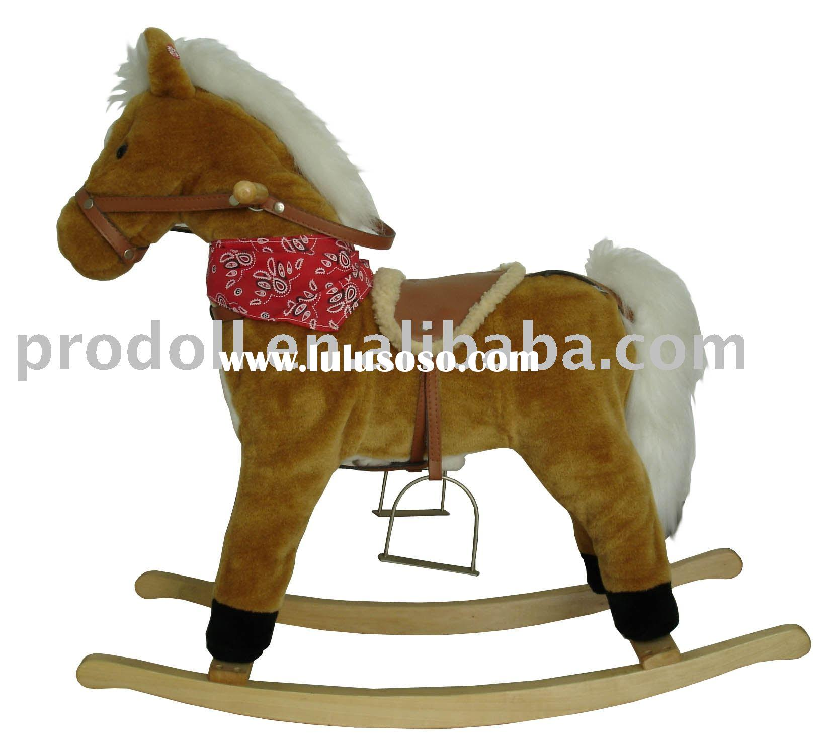 Rocking Horse/Plush Rocking Horse/rocking horses/plush rocker/rocking animal