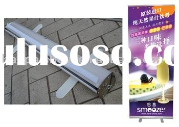 Roll Up stand & single-sided roll up banner & display stand
