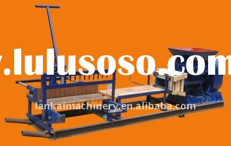 SEMI-AUTOMATIC clay brick making machine