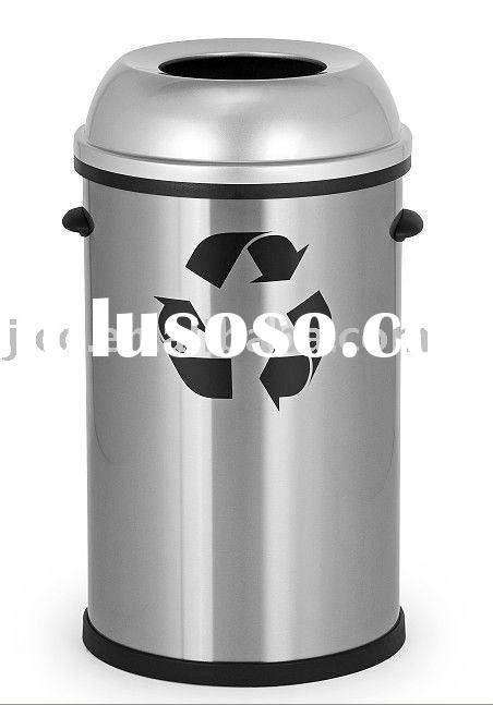 Sam's Stainless Steel Outdoor Waste Garbage Trash Can