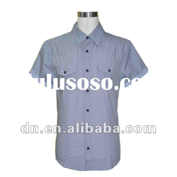 Short Sleeve Cotton Shirt for Men