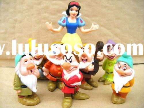 Snow White And The Seven Dwarfs 8 PVC Figures Toys New