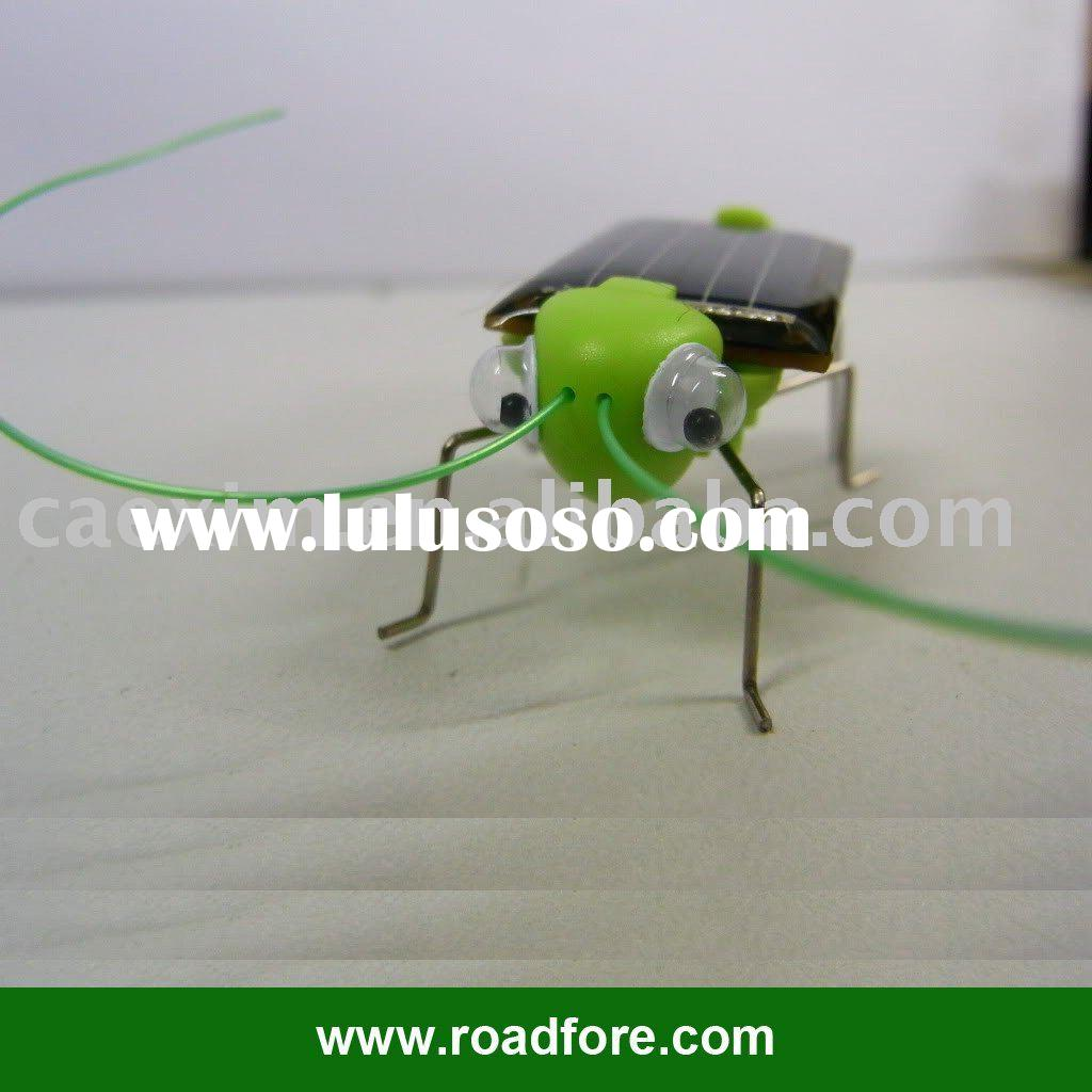 Solar toys, Educating Solar Grasshopper,Solar locust,solar frightened grasshopper,solar crazy grassh