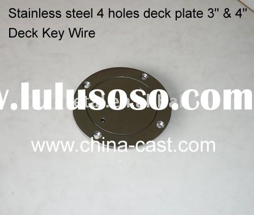 Stainless Steel Boat Deck Plate,deck hardware