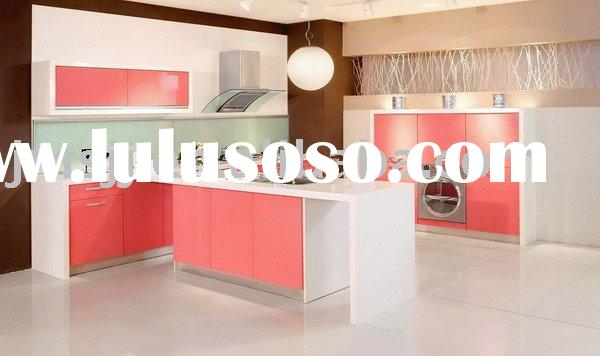 Supply modern kitchen cabinets (2011 Most Popular Design) Model-KC3174