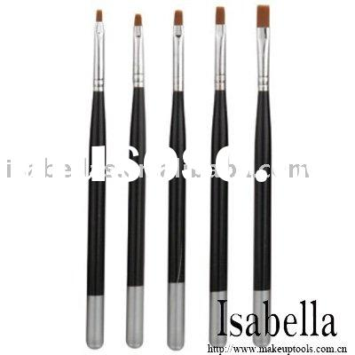 Top Quality Professional 5 pcs Nail Art Brush Set