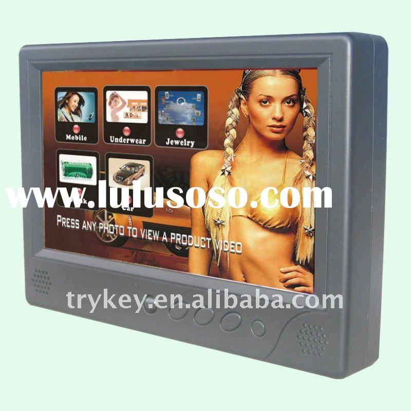 """Touchscreen taxi advertising + 9"""" LCD + touch screen"""