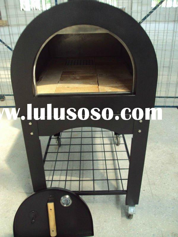 Wood Burning Pizza Oven With wheels