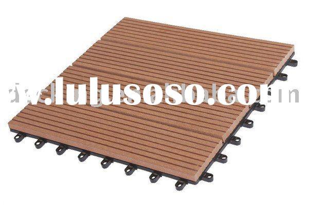 Wood Composite Decking Terrace Tile