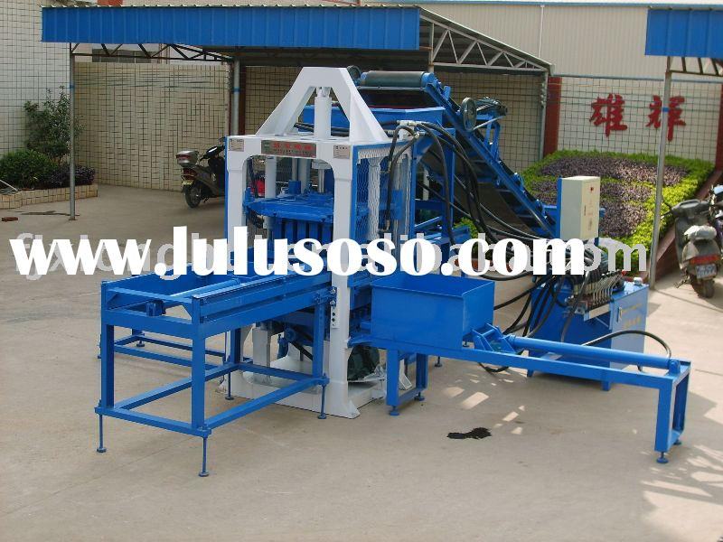 XH03-25 semi-automatic concrete block making machine