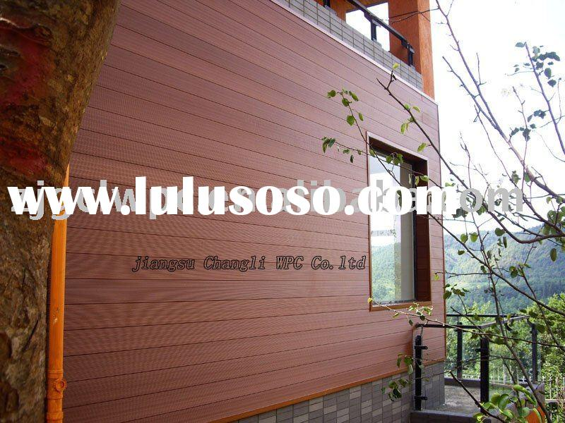 YEYA lake outdoor project-WPC exterior decorative wall panel