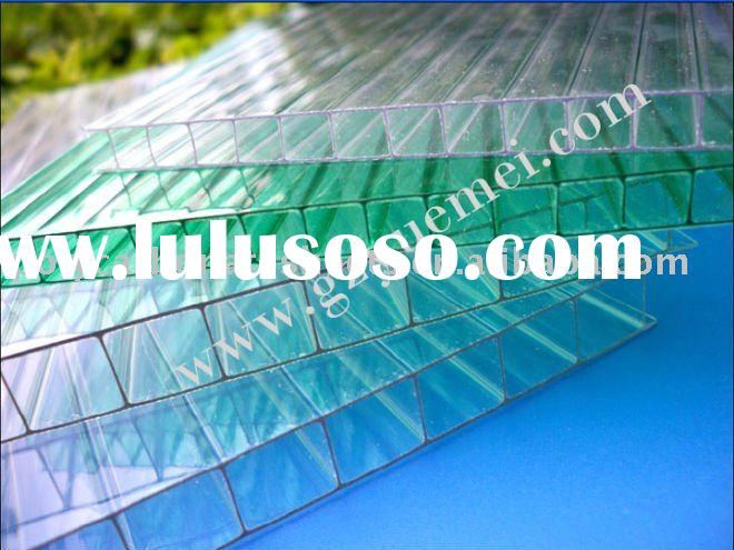 Yuemei UV-protected clear plastic roofing sheet